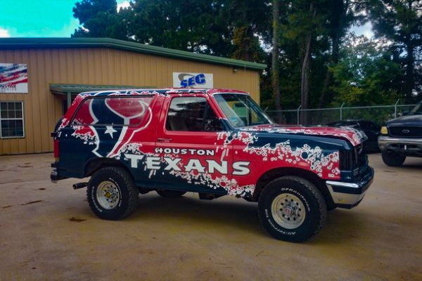 Houston Vehicle Wraps Graphics Houston Truck Wraps Car Wraps - Custom decal graphics on vehiclesvinyl car wraps in houston tx