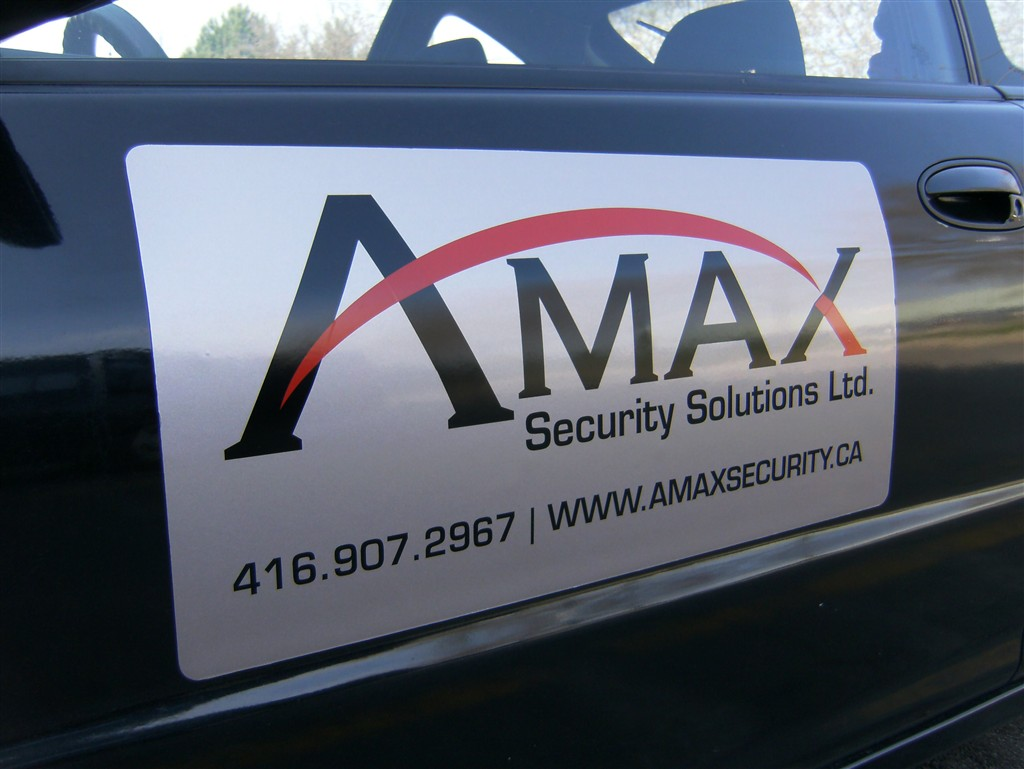 Magnetic Vehicle Signs - Houston Car Signs Company